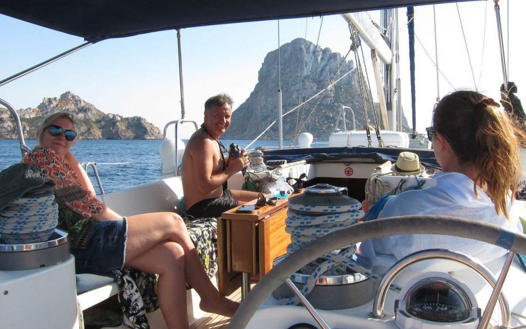 Excursiones en barco Ibiza