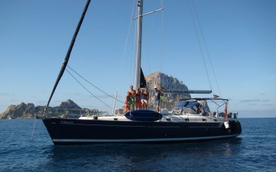 Yacht charter Ibiza with skipper