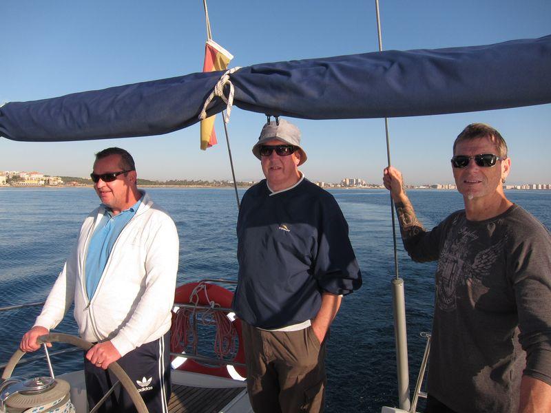 Alquiler barco con patrón alumnos de Licencia de Navegación