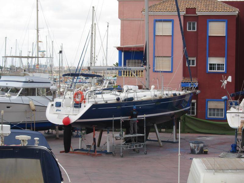 Alquiler veleros Ibiza varada