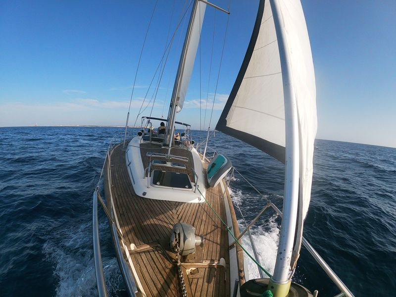 Awesome boat trips in La Manga sailing