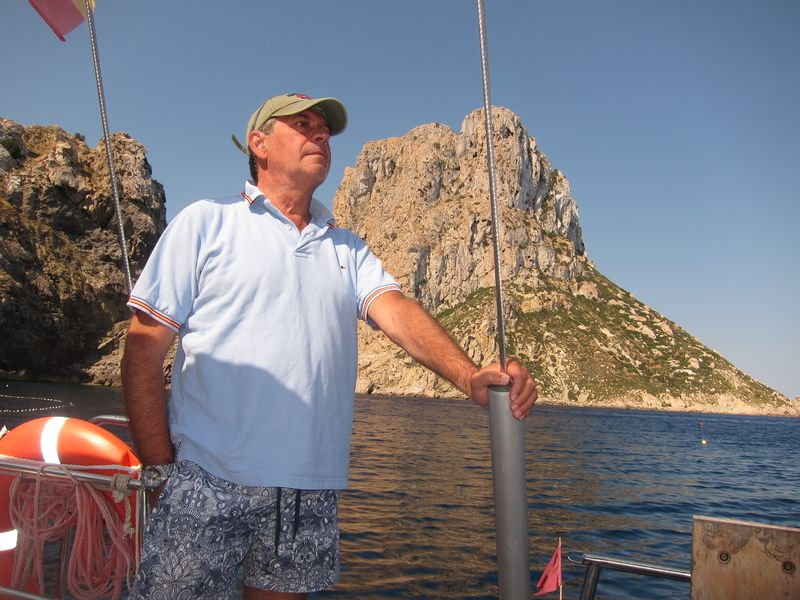 Familia Losada alquiler de veleros en Ibiza