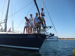 Familia Losada alquiler velero por días Ibiza