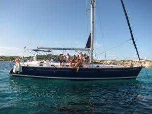 Disfruta de tu paseo en barco La Manga a bordo de Alina