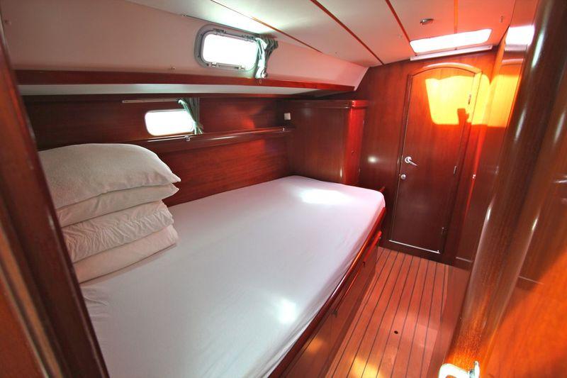 Ibiza yacht cabin