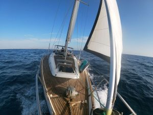 Awesome boat trips in La Manga sailing on board our luxury sailboat